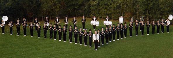 Optreden van Sint Brigida in 1989 op Wereld Muziek Concours in Kerkrade.