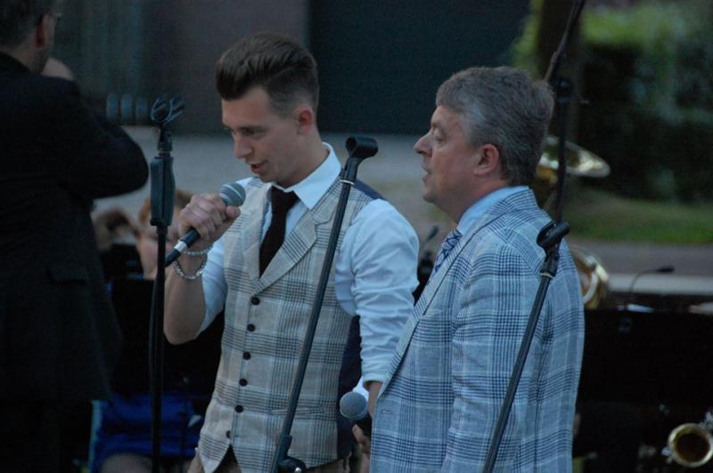 Alex tijdens PURO Primavera samen met zijn vader